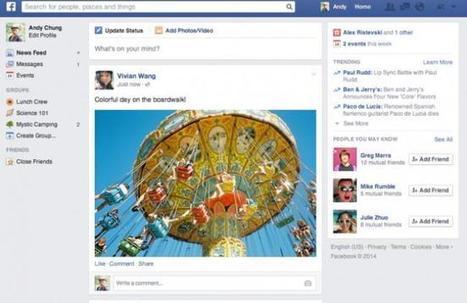 Esta vez sí: Facebook presenta una nueva portada para todos los usuarios   MediosSociales   Scoop.it