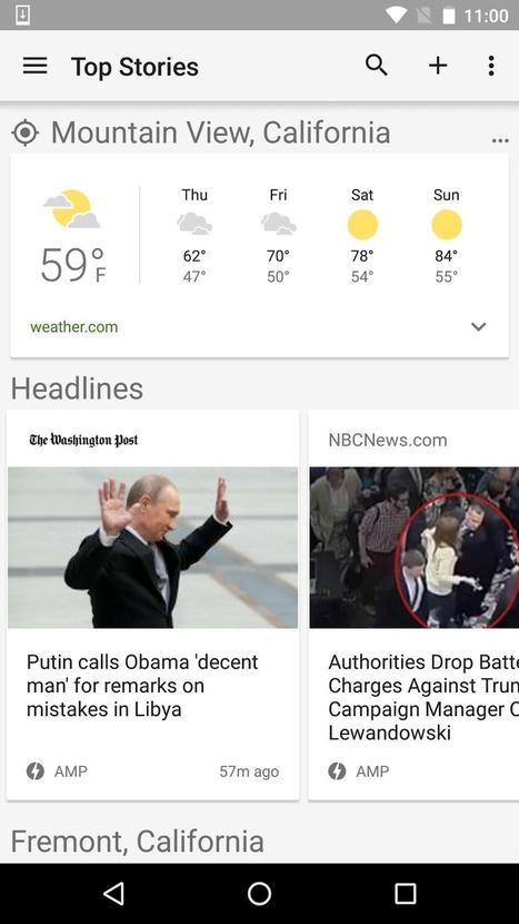 AMP s'incruste de plus en plus dans Google News - Actualité Abondance | Socialdigitalnews | Scoop.it