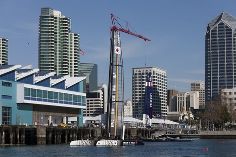 Training rolls on in San Diego | America's Cup-2013_AC34 | Scoop.it