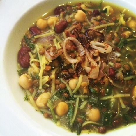 Vegan Ash Reshteh Soup | My Vegan recipes | Scoop.it