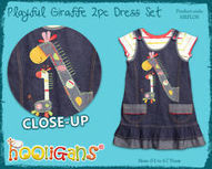 A Brand New Girls Two Piece Denim Dress! | Africa in Your Clothing | Scoop.it