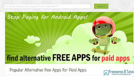 Antiroid : des alternatives gratuites aux applications Android payantes | TICE & FLE | Scoop.it