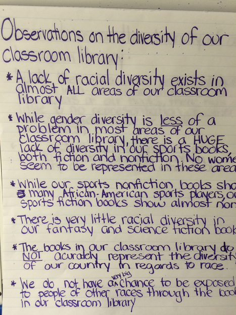 Having Students Analyze Our Classroom Library To See How Diverse it is | AdLit | Scoop.it