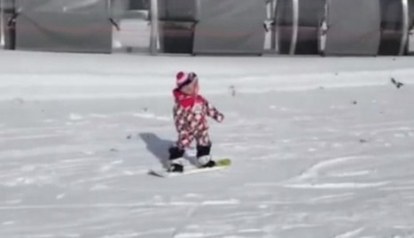 A 1-Year-Old Who Can Snowboard? Yes — and There's Adorable ... | Snowboarding.Chris | Scoop.it