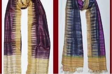 FIGHT THIS WINTER WITH BEAUTIFUL SILK SHAWL | Sari Dhoti and Designer Shawl for Women | Scoop.it