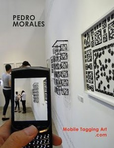The QR code meets art with Pedro Morales exhibitionGoMo News | QR-Codes | Scoop.it