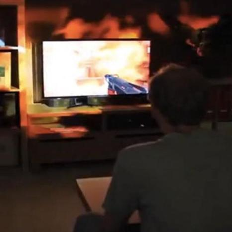 Microsoft lleva los videojuegos fuera de la pantalla - Terra Colombia | VideoJuegos | Scoop.it