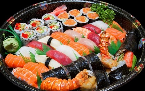 Maru Japanese Sushi | Super Greenland | Food | Scoop.it
