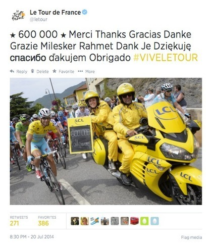 Interview : le community management du Tour de France | CommunityManagementActus | Scoop.it