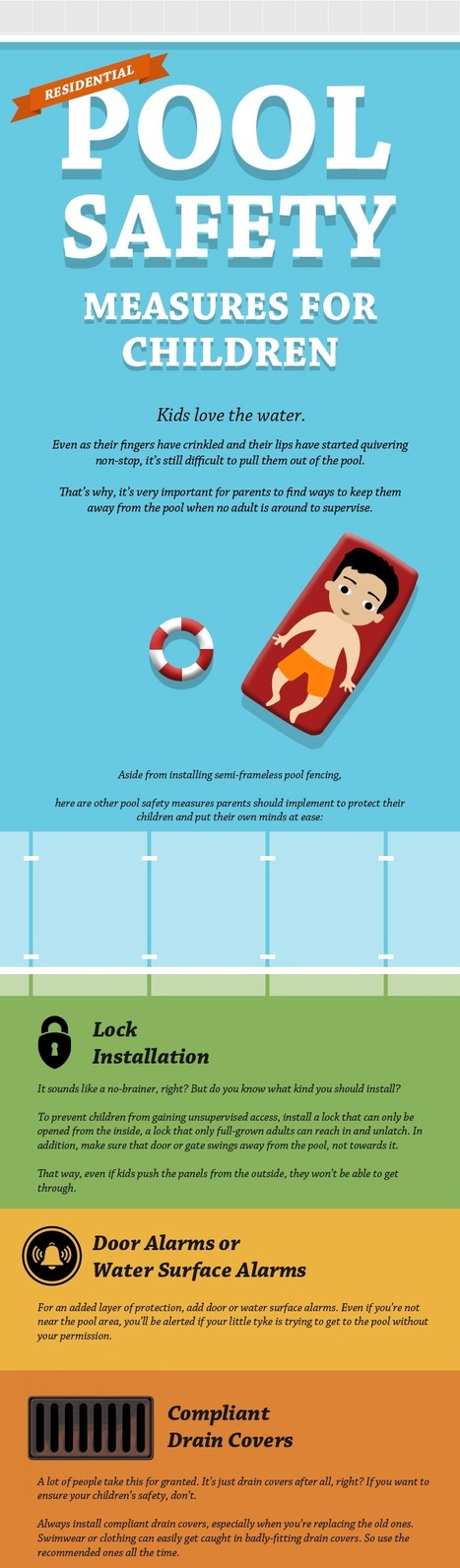 Residential Pool Safety Measures for Children | Glass Fencing | Scoop.it
