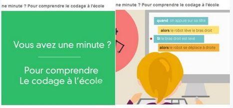 Vous avez une minute ? Pour comprendre ... | TIC et TICE mais... en français | Scoop.it