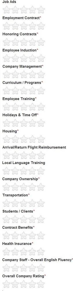 International ESL School Ratings & Reviews :: Expat Teaching Recruitment (London) | Look Ahead | Scoop.it