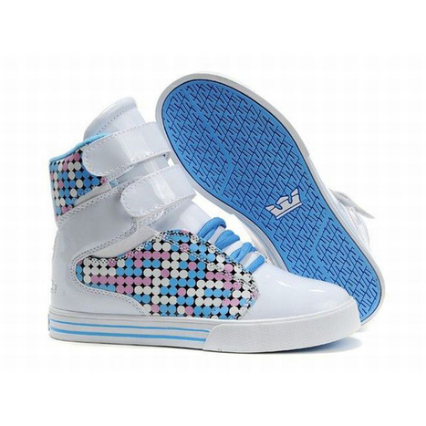 women white blue supra society high top footwear | popular and new list | Scoop.it