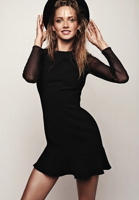 [lookbook] Karmen Pedaru (Ford Models) for Mango | Winter 2012 | Fashion for all man kind | Scoop.it