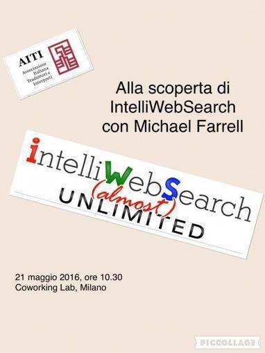 """Seminario""""Alla scoperta di IntelliWebSearch"""" a Milano   Michael Farrell - Training for Translators   Scoop.it"""
