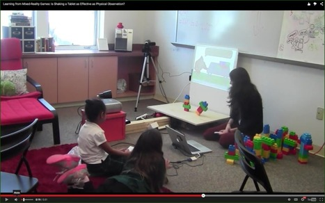 New Research Promotes Idea of Mixing Virtual, Physical World in Learning Games | Games and Learning | Differentiated and ict Instruction | Scoop.it