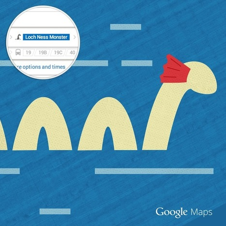 A New Easter Egg In Google Maps: Travel By Loch Ness Monster | SEO Tips, Advice, Help | Scoop.it