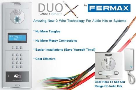 Fermax Duox 2 Wire Digital Door Entry System   Door Entry Systems   Scoop.it