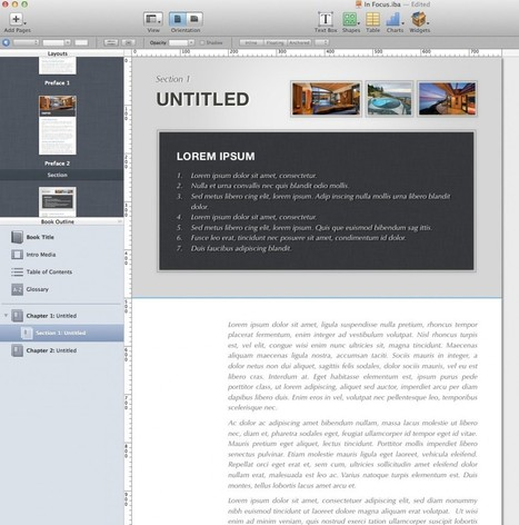 Working with Landscape and Portrait Orientation in iBooks Author | Publishing with iBooks Author | Scoop.it