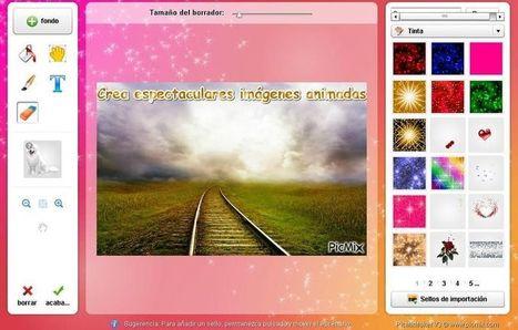 PicMix: utilidad web para crear hermosas imágenes animadas | Educació | Scoop.it
