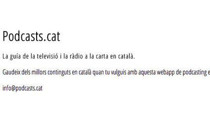 Podcasts.cat, l'índex de continguts audiovisuals a Internet en català - iMàtica | FiloloTic | Scoop.it