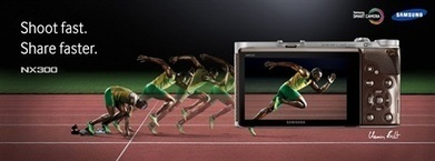 Usain Bolt heads the Samsung NX300 release | DSLR video and Photography | Scoop.it