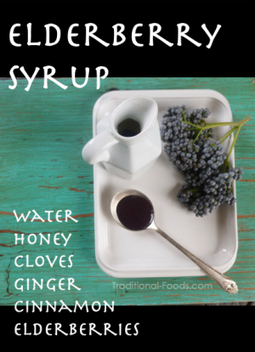 Homemade Elderberry Syrup   Traditional Foods   Living  a Green Life   Scoop.it
