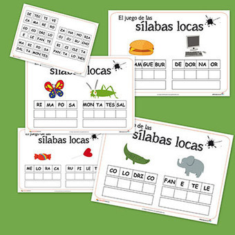 Spanish Materials for Class and Home from Educapeques | Preschool Spanish | Scoop.it