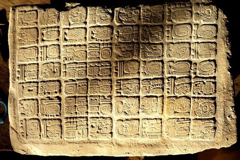 Archaeologists find intact Maya hieroglyphic panels and well-preserved stela | Merveilles - Marvels | Scoop.it
