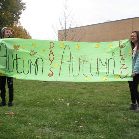 Students rake in cash to plant trees at Maine East High School - Park Ridge Herald-Advocate   Landscape Management   Scoop.it