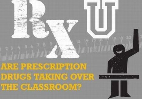 Infographic: Are prescription drugs taking over the classroom? | Articles | Main | REAL World Wellness | Scoop.it