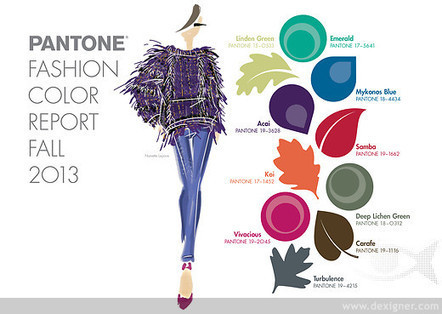 Pantone Fashion Color Report Fall 2013 | Designer's Resources | Scoop.it