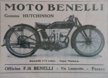 Benelli: 100 years of Motobike in Le Marche | Le Marche another Italy | Scoop.it