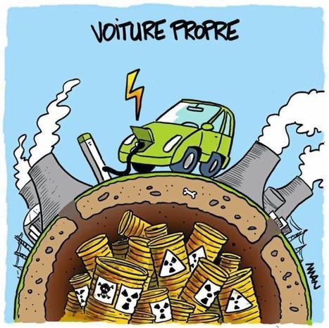 Qui a dit que la voiture électrique était une voiture propre ? | Baie d'humour | Scoop.it