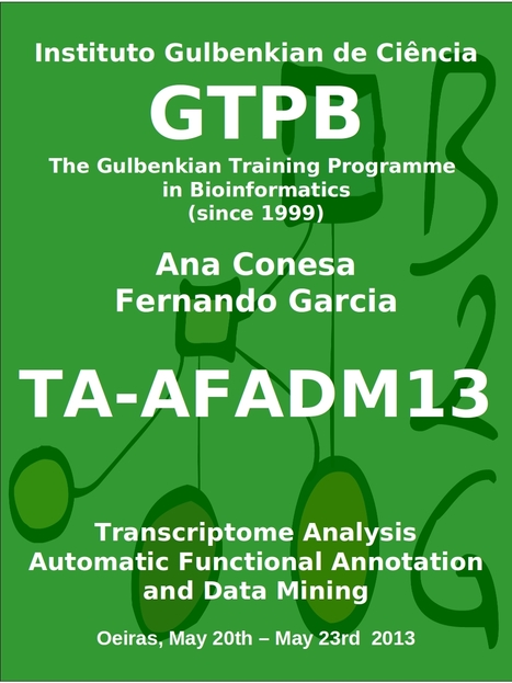 TA-AFADM13 Transcriptome Assembly, Automatic Annotation and Data Mining | Bioinformatics Training | Scoop.it