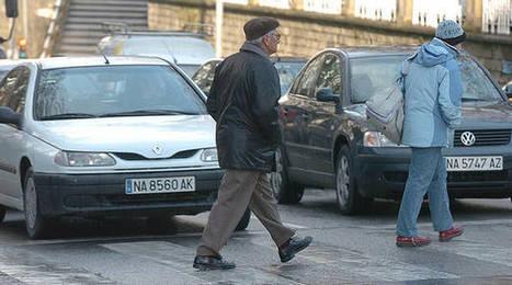 Navarra se fija el objetivo de reducir la alta siniestralidad de mayores y peatones | Ordenación del Territorio | Scoop.it