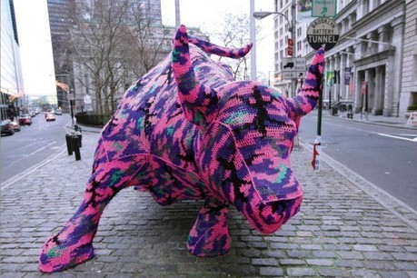 Attaque au tricot | sulago | Yarnbombing France | Scoop.it