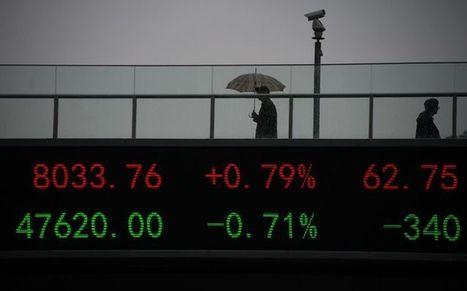 Pourquoi la bourse de Shanghai s'enfonce toujours plus   Bazar citoyen   Scoop.it