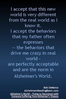 I Accept Alzheimer's World | Alzheimer's Front Row | Alzheimer's World | Scoop.it