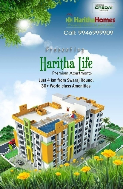 Villa Project in Thrissur, Flats and Apartments... - Realestate in Kerala - Quora | Harithahomes | Scoop.it