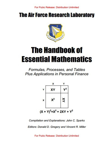 (EN) (PDF) - The Handbook of Essential Mathematics | The Air Force Research Laboratory (Google Drive) | Translator & Linguist | Scoop.it