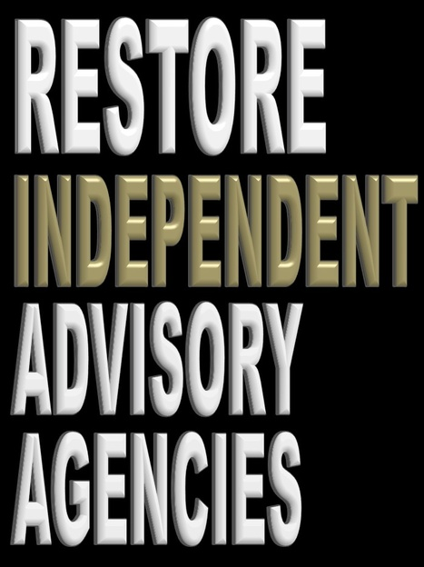 Restore Independent Advisory Agencies | Politics for the Twenty-first Century | Scoop.it