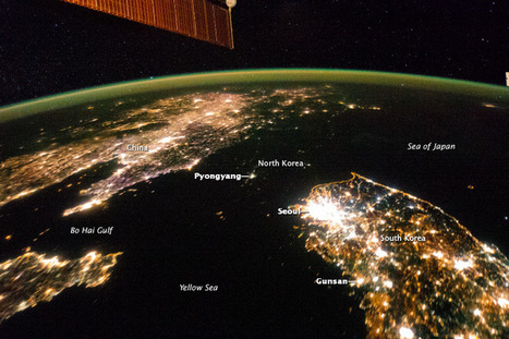 The Koreas at Night : Image of the Day | Mrs. Watson's Class | Scoop.it