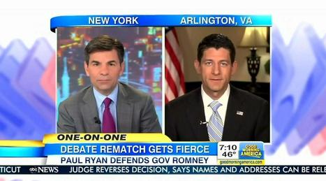 George Stephanopoulos Fawns Over Joe Biden, Then Hits Paul Ryan With VP's Talking Points   Littlebytesnews Current Events   Scoop.it