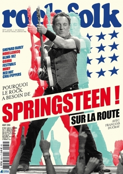 Bruce Springsteen en couverture de « Rock & Folk » - le blog Bruce Springsteen | Bruce Springsteen | Scoop.it