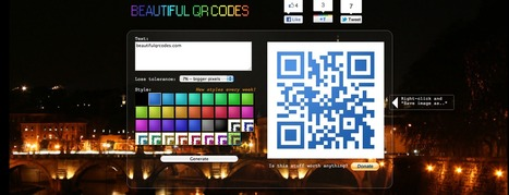 Beautiful QR Codes - QR Code Generator | Teaching & Learning Resources | Scoop.it