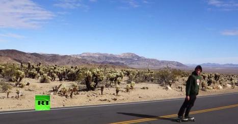 Более тысячи километров на доске, или приключения скейтбордиста в Калифорнии | Global politics | Scoop.it