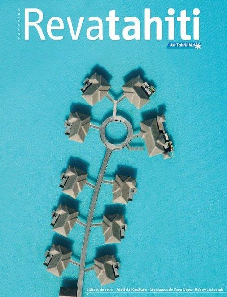Magazine de Bord Reva Tahiti (numéro 49 Avril - Juin 2011)   Facebook   Air Tahiti Nui   Scoop.it