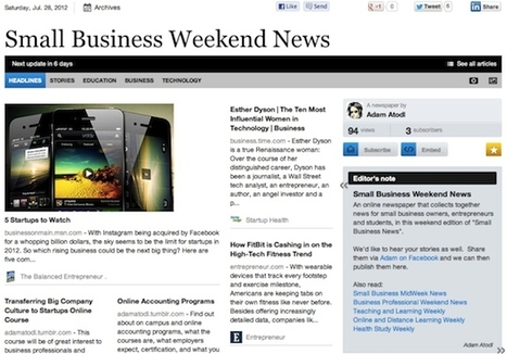 July 28 - Small Business Weekend News | Business Futures | Scoop.it