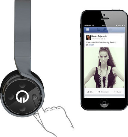 Muzik : 1er casque audio social | Musique sociale | Scoop.it